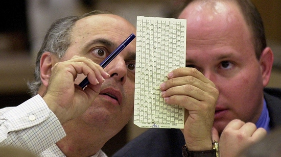 Image for 16 Years After Bush v. Gore, Still Wrestling With Ballot-Box Rules